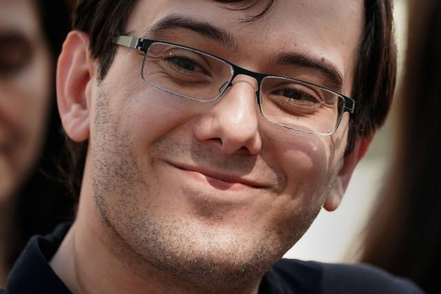 Martin Shkreli, surnommé «l'homme le plus détesté des... (PHOTO Martin Shkreli, ARCHIVES REUTERS)