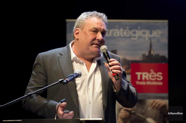 Le directeur général d'Innovation et développement économique Trois-Rivières,... (Sylvain Mayer, Le Nouvelliste)