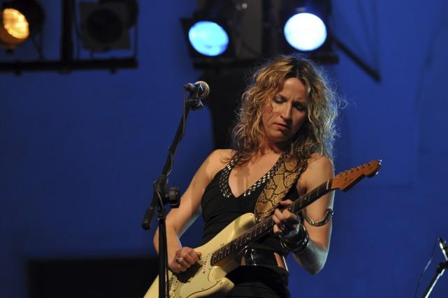 Ana Popovic promènera ses blues à Chicoutimi, le... (Tirée d'Internet)