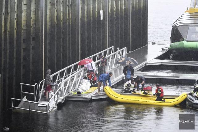 Une douzaine de touristes avait été blessés lors... (Archives le Quotidien, Rocket Lavoie)