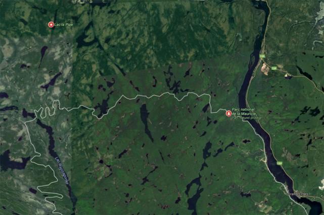 Le Mouvement Vert de la Mauricie rencontrera les autorités du parc national de... (Google Maps)