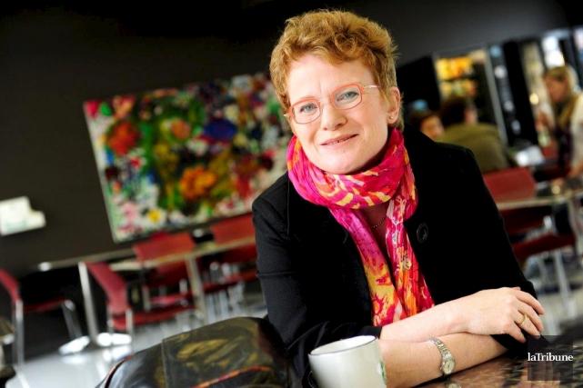 Marie Beaulieu est professeure-chercheuse à l'École de travail... (Archives, La Tribune)