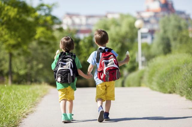 Enfants du Saguenay... (123 RF)