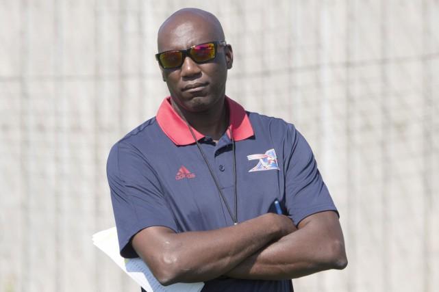 Kavis Reed, directeur gérant et entraîneur-chef par intérim... (La Presse canadienne)