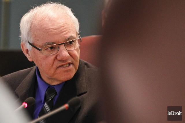 L'ombudsman de la Ville de Gatineau, André Guay... (Patrick Woodbury, Archives Le Droit)