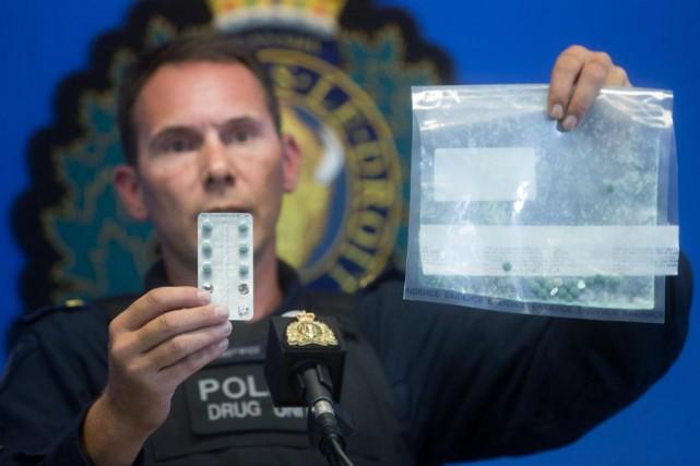La consommation d'opioïdes fait des ravages sur la... (PHOTO ARCHIVES PC)