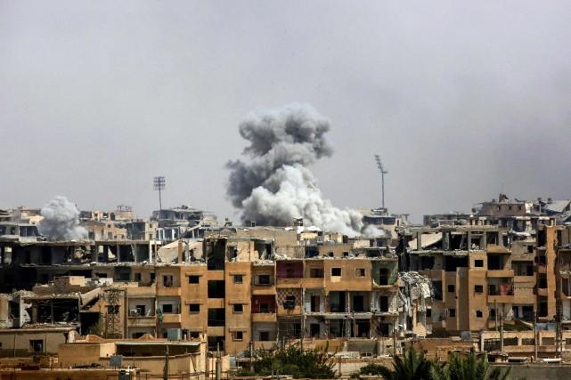 Les Forces démocratiques syriennes (FDS) «contrôlent 70% de... (AFP)