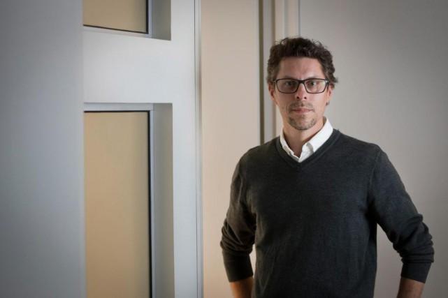 Dominique Boucher, chef des technologies de Nu Echo... (Photo Ivanoh Demers, La Presse)