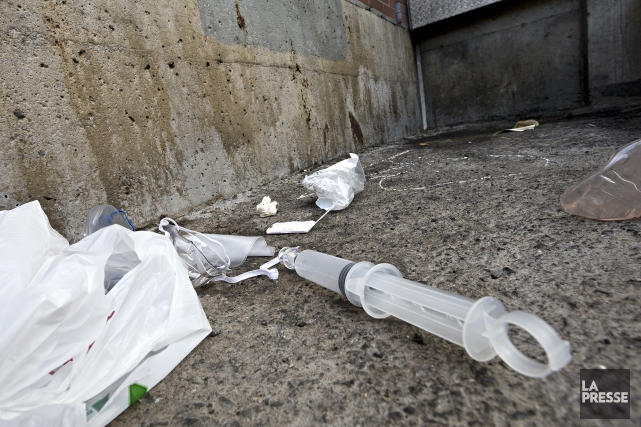 La trousse de l'antidote naloxone qui a été... (Photo Patrick Sanfaçon, La Presse)