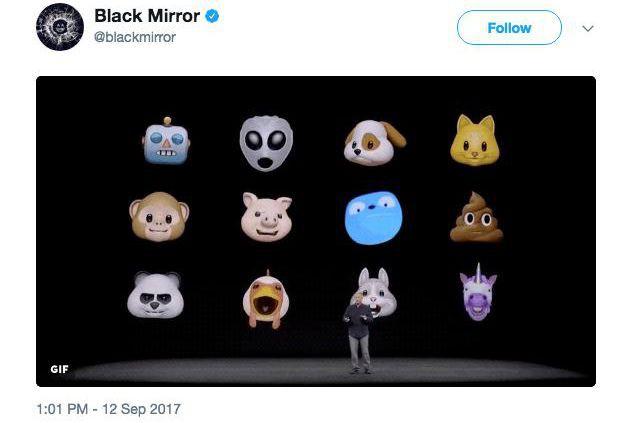 Le compte officiel de Black Mirrora ajouté Waldo,... (Image tirée de twitter)
