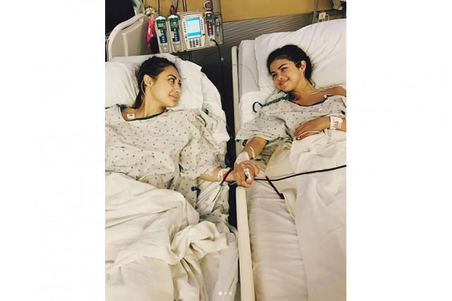 Selena Gomez a posté sur Instragramune photo la... (Instagram)
