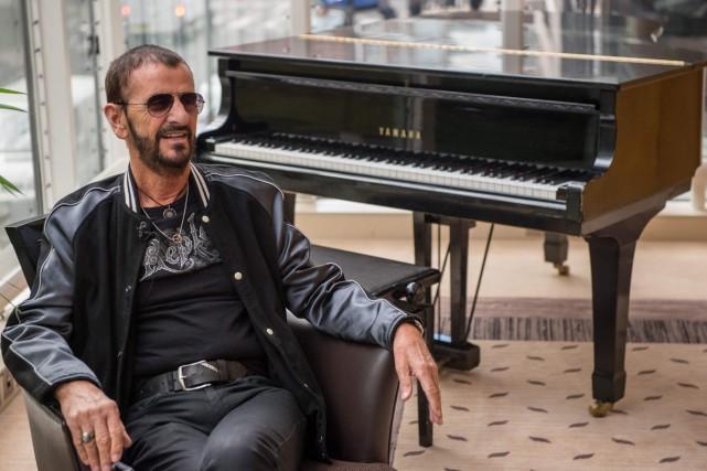 À 77 ans, Ringo Starr s'apprête à sortir... (PHOTO AFP)
