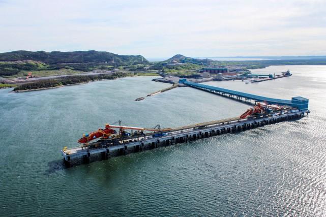 Le port de Sept-Îles... (Fournie par le Port de Sept-Îles)