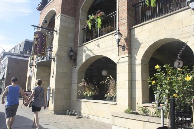 Le restaurant Jack'O situé à Magog fermera ses... (La Tribune, Jean-François Gagnon)