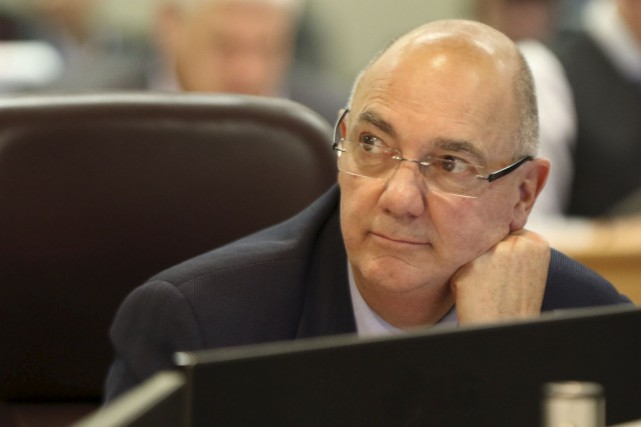 Le candidat à la mairie de Gatineau, Denis... (Patrick Woodbury, Archives Le Droit)
