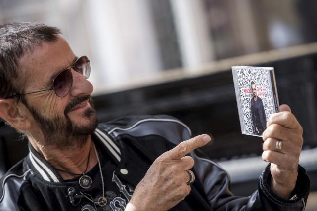 Ringo Starr s'est associé notamment à son ancien... (Agence France-Presse)