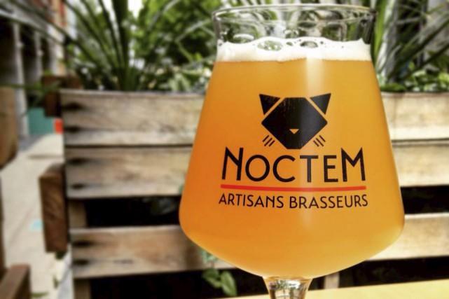 Le Noctem propose une sélection de bières brassées... (tirée de Facebook)