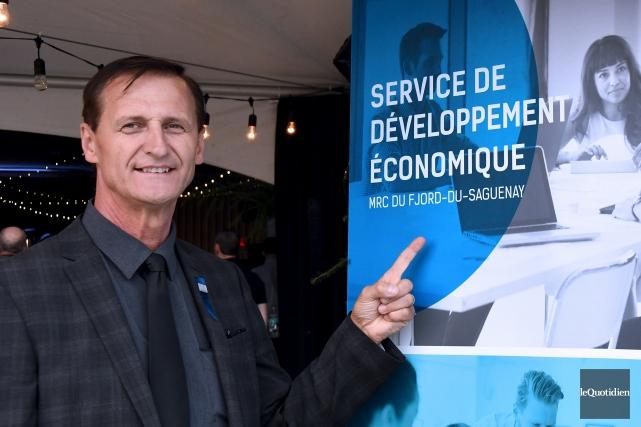 Le préfet de la MRC du Fjord-du-Saguenay, Gérald... (Photo Le Quotidien, Rocket Lavoie)