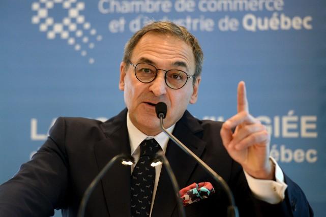 Le président-directeur général de Groupe Capitales Médias et... (Le Soleil)