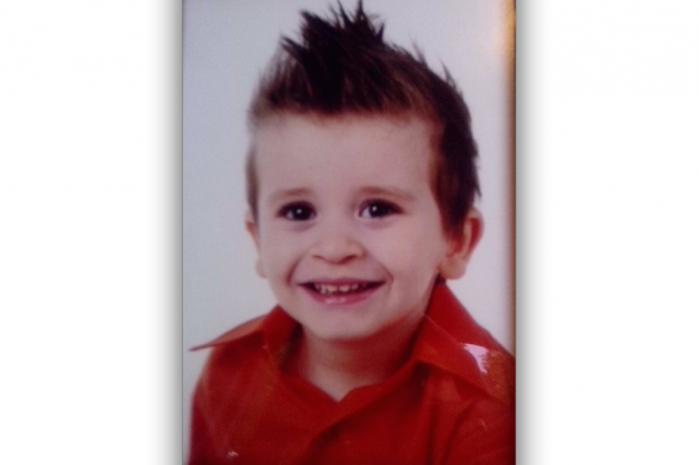 Louka Fredette, six ans... (Photo fournie)