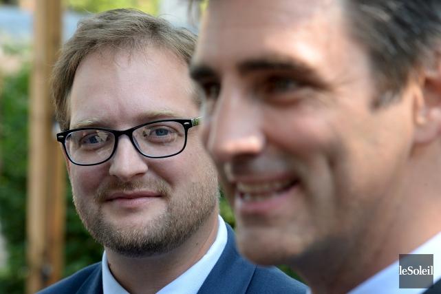 Le candidat de Québec21 au poste de conseiller... (Le Soleil, Erick Labbé)