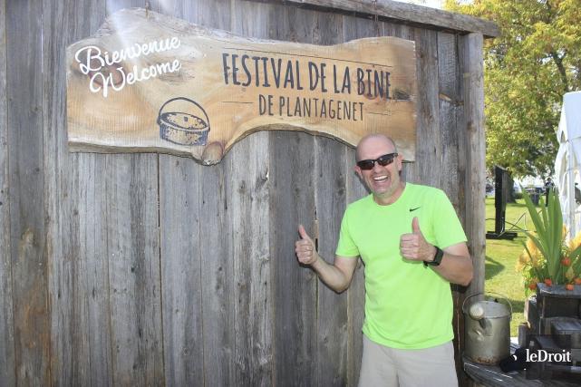 Le président du Festival de la Bine et... (Martin Brunette, Le Droit)