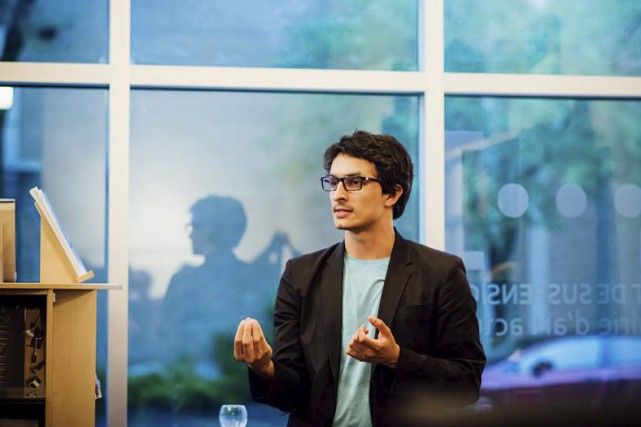 Paolo Almario, artiste qui se consacre aux arts... (Photo courtoisie, Sophie Gagnon-Bergeron/Canopée médias)