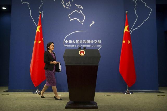 Pékin «s'oppose à la violation, par la Corée... (AP, Mark Schiefelbein)