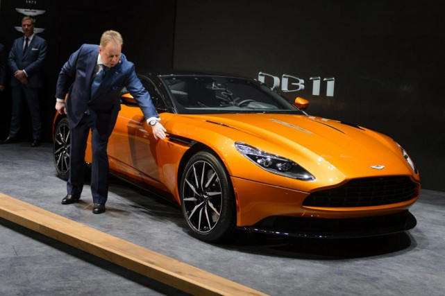 Le PDG d'Aston Martin, Andy Palmer (photo), veut offrir... (PHOTO FABRICE COFFRINI, ARCHIVES AGENCE FRANCE-PRESSE)