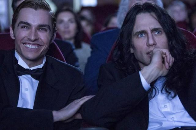 Dave et James Franco dansThe Disaster Artist... (photo fournie par la production)