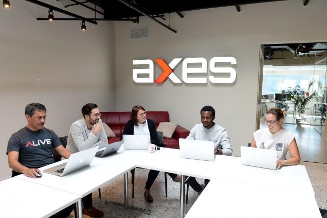 Axes Network compte sur une escouade d'une quarantaine... (Le Soleil, Erick Labbé)
