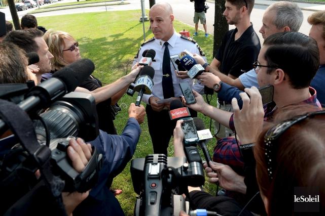 La police de Québec a annoncé vendredi l'arrestation... (Le Soleil, Erick Labbé)