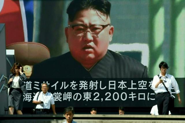 Le leader nord-coréen Kim Jong-Unassure que l'objectif final... (AFP, Toru Yamanaka)
