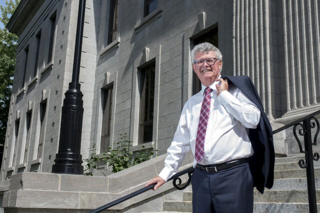 Le juge Guy Lambert était sorti pour la... (Stéphane Lessard)