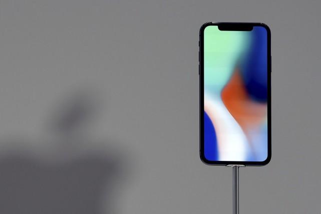 Le nouveau iPhone X a été présenté cette... (AFP)