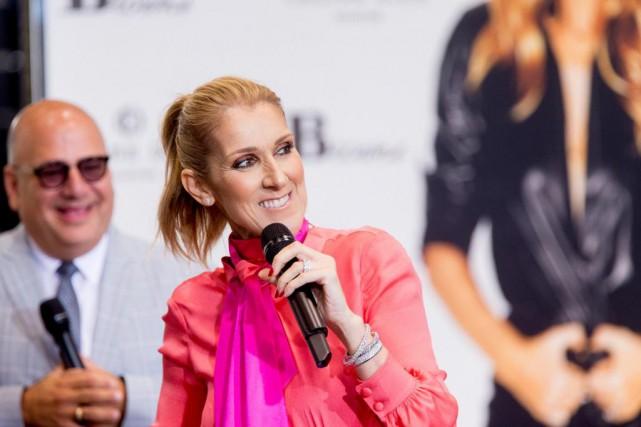 À une question deBrendan Kelly, Céline Dion a... (PHOTO MARCO CAMPANOZZI, archives LA PRESSE)