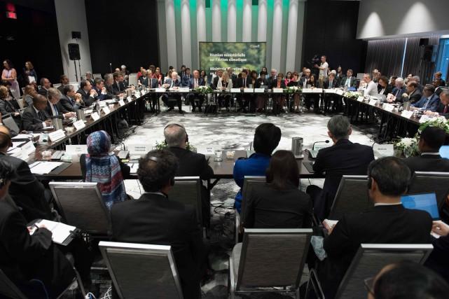 Plus de 30 pays sont représenté lors de... (PHOTO Alice CHICHE, AFP)
