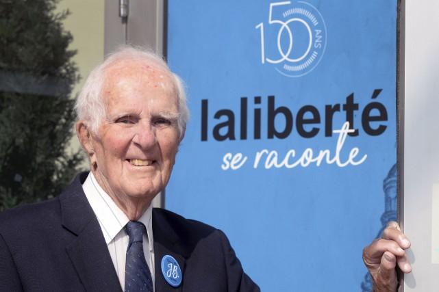 Jacques Morisset est arrivé chez Laliberté, qui fête... (Le Soleil, Jean-Marie Villeneuve)