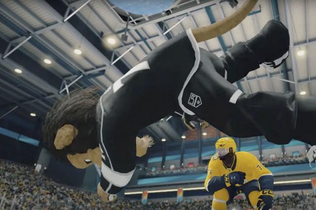 Le mode «Threes» est essoufflant avec des mises... (fournie par EA Sports)