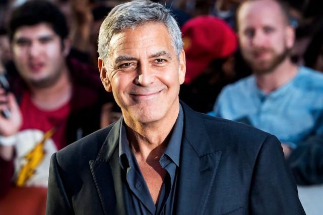 George Clooney au Festival du film de Toronto,... (La Presse canadienne, Nathan Denette)