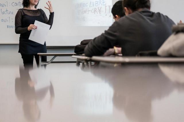 Au Québec, 53% des futurs enseignants ont réussi... (PHOTO EDOUARD PLANTE-FRÉCHETTE, ARCHIVES LA PRESSE)