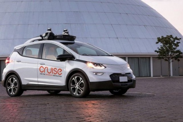 Une Chevrolet Bolt Cruise Automation : électrique, autonome.... (Photo : Cruise automation)