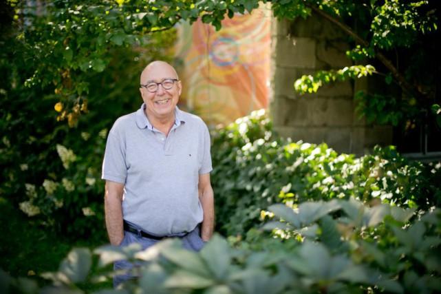 À 74 ans, François Dompierre, qui a des... (PHOTO DAVID BOILY, LA PRESSE)