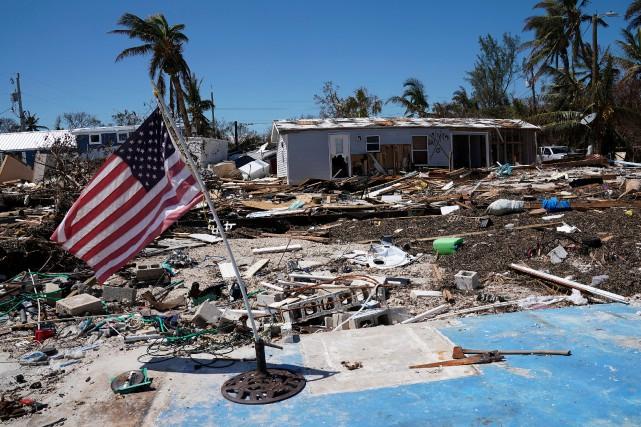 L'ouragan Irma a fait au moins 50 morts en Floride, selon un nouveau... (PHOTO REUTERS)