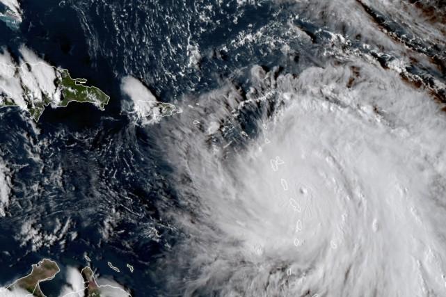 Avant la Dominique, l'oeil du cyclone était passé... (PHOTO AP)