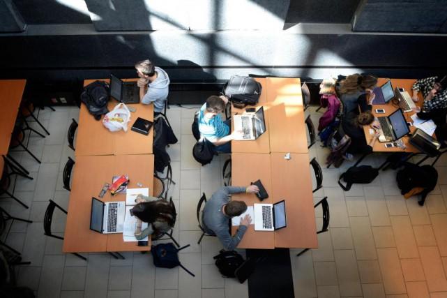 À l'échelle du Québec, le taux de réussite... (Photo Bernard Brault, Archives La Presse)