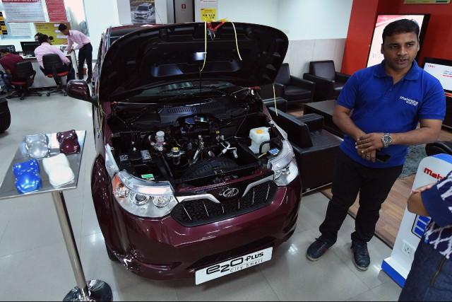 Ford s'allie à Mahindra alors que l'Inde lance... (Photo : AFP)
