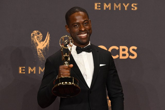 Sterling K. Brown, déjà gagnant d'une statuette l'an... (PHOTO AFP)