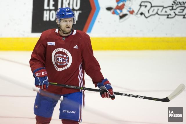 Après une première semaine au camp du Canadien,... (Photo Robert Skinner, La Presse)