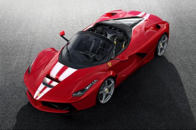 La Ferrari LaFerrari Aperta... (PHOTO : Ferrari)